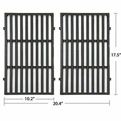Bbq Grill Cast Iron Cooking Grid Grates Parts For Weber Spirit 200 E/s-210 / 220