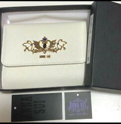 Sailor Moon Anna Sui Wallet Neo Queen Serenity White Item Isetan Limited H084
