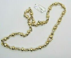 Chimento Gold Necklace 18kt Double Sided Collier En Or Goldkette Band
