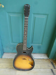 Rare 1963 Vintage Stratotone Body And Neck Project