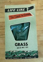 Life Like Grass 7.5 Oz - S107s New Old Stock 'the Finest In Scenery'