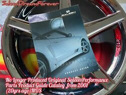 Saleen Perf Parts Catalog Frm 01 Nos S351 S281 Mustang N2o Focus Xp8 Ford Ssc