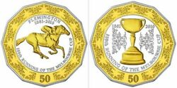 Australia 2010 Fifty Cents Proof Set 150th Anniversary Of The Melbourne Cup