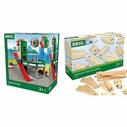 Brio World - 33204 Parking Garage   Railway Accessory With Toy Cars For Kids ...