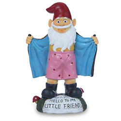 Garden Gnome Figurines Resin Funny Gnome Statues Indoor Outdoor Spring For Home