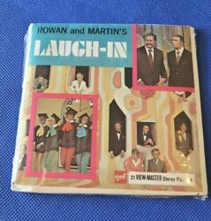 Sealed Gaf B497 Laugh-in Rowan And Martin Tv Show View-master Reels Packet Set