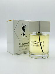 Land039homme By Yves Saint Laurent Cologne Spray 3.3 Oz/ 100 Ml New In Tst Box