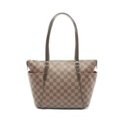 Louis Vuitton Damier Totally Pm N41282 Tote Bag From Japan 435