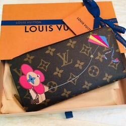 [japan Limited Release] Louis Vuitton Christmas Vivienne Long Wallet From Japan