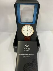 Royal London Mens Watch 41297-03 Rrp Andpound79.99 Brand New Deals