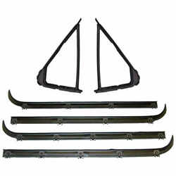 Vent Window Seal Kit 2 Pcs Left And Right Sider 92-97 Ford F150 F250 Bronco