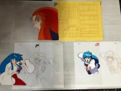 Ghost Sweeper Beauty Cel Anime Three Videos Available There Is Drawing Record