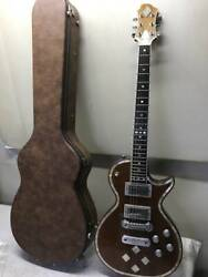 Secondhand Electric Guitar With Case Greco Zemaitis Gz501 Diamond