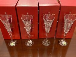 Waterford Crystal 12 Days Of Christmas Champaign Flutes - Complete Set