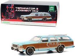1979 Ford Ltd Country Squire Weathered Terminator 2 1/18 Car Greenlight 19085