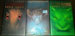 The Deptford Mice Trilogy By Robin Jarvis All Hardcovers W/ Dust Jackets