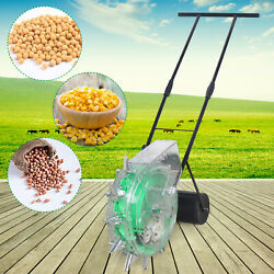 Efficient Hand Push Corn,soybeans Roller Seeders Agriculture Planter Sowing Tool