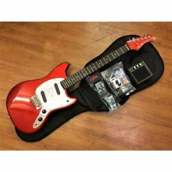 The Next Day Yes Bacchus Bms-1r Car Electric Guitar Introductory Set Mini Amp