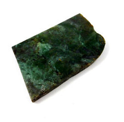 421 Cts. 100 Nartural Green Moss Agate Slice Rough Minerals Sng4092