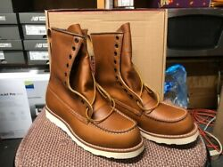 100 Authentic Red Wing 10877 Irish Setterwork Boots New In Box Made In Usa
