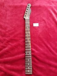 Telecaster Tele All Rosewood Neck Replacement Modern C 22 Fretsone Piece.