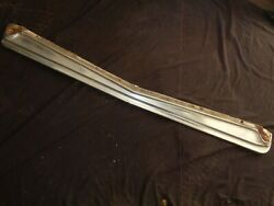 1963 Plymouth Mopar B-body Grill Mounting Valance Bumper Filler Panel Polished