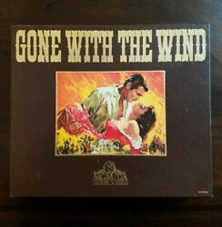 Gone With The Wind Vhs 2-tape Set
