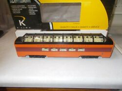 Milwaukee Road, 3 Hiawatha Passenger Cars,k Line,by Lionel 15 Inch, Metal Ones