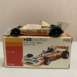 Tomica Antique F69 Chevron Bmw Foreign Car Series Made In Japan