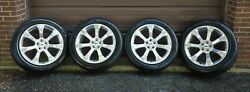 4 New Factory Ford Explorer Platinum 21 Oem Wheels And Tires Polished Rims