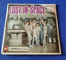 Rare Gaf Vintage B482 Lost In Space Tv Show 60s View-master Reels Packet Sci-fi