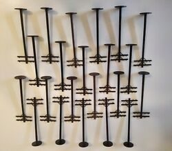 Plasticville- Bachmann O Scale Telephone Poles Lot Of 22 6 Tall