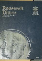 1946-1964 Roosevelt Dime Complete Collection Whitman Folder M-3085