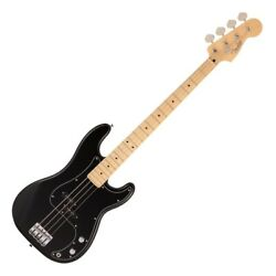 178657 Fender Made In Japan Hybrid Ii Bass Mn Blk Electric Base