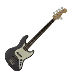 156371 Fender Made In Japan Hybrid Jazz Bass Rw Charcoal Frost Metallic Electric
