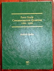 1999-2008 Fifty State Commemorative Quarters Book - Complete 52 Bu Coin Set