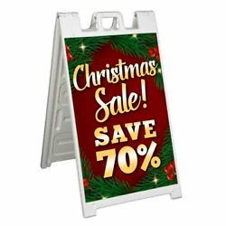 Christmas Sale Save 70 Signicade 24x36 A Frame Sidewalk Sign Double Sided