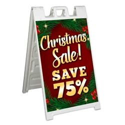 Christmas Sale Save 75 Signicade 24x36 A Frame Sidewalk Sign Double Sided