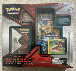 Pokemon Red Genesect Theme Deck Collection With A Cool Pin Sealed Unopened