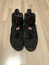 Size 8.5- Jordan 8 Retro Playoff 2013 No Box. See Pictures Good Condition