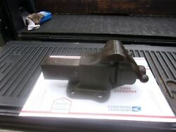 Vintage Reed 104 R Stationary Bench Vise 4 Jaws Very Nice Condition