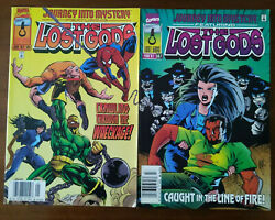 Journey Into Mystery 505 And 507 - Newsstand Lot Spider-man Lost Gods Odin 1997