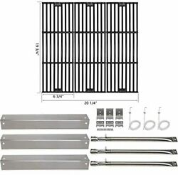 Bbq Grill Cooking Grates Grid Heat Plates Burners For Char-griller King Griller