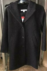 New Kenneth Cole Womenand039s Soft Button-up Tie Front Cardigan Jacket Variety 572