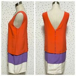 The Real Thing Collection Model Silk 100 Color Scheme Switching Sleeveless