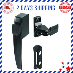Screen Storm Door Push Button Latch Sets Nights Lock Replace Old Damaged Screens