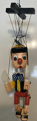 Zambiasi 16 Pinocchio Wooden Marionette Wooden Toy Puppet Doll
