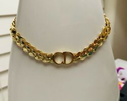 18k Real Gold Chunky Necklace