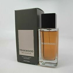 Bath And Body Works Menand039s Collection Teakwood For Men Cologne Spray 3.4 Oz