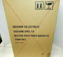 Sideshow Western Ghost Rider Shipper Sealed Statue New Marvel The Old West